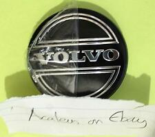Volvo S60 Centre Caps Set of 1x Alloy Wheel 64mm Black Hub