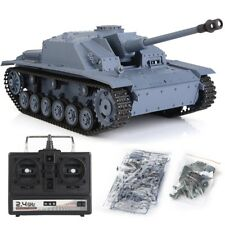 Heng Long 2.4Ghz 1/16 German III RC Model Tank Upgraded Version Edition RTR Tank