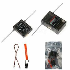 AR6210 6CH 2.4GHz DSMX DSM2 Receiver & Satellite For Spektrum Transmitter RC