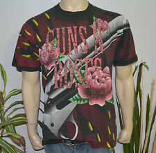 RaRe *1993 GUNS N' ROSES* vtg rock concert tour t-shirt (XL) GNR Slash Axl Rose