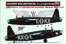 KORA Models PAINT MASKS 1/48 VICKERS WELLINGTON Mk.IC LUFTWAFFE SERVICE Part 1