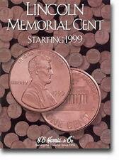 New Harris Lincoln Memorial Start 1999 Coin Folder 2705