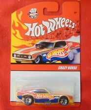 2008 Hot Wheels CRAZY HORSE 40th '71 Mustang Funny Car LE real riders ALL METAL