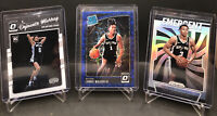 KELDON JOHNSON 2019-20 EMERGENT SILVER PRIZM, Lonnie Walker, Dejounte Murray Opt