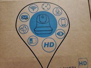 Floureon WIFI IP HD Camera, baby monitor,  security, nanny cam 2017 Black