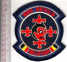 Aerobatic Belgium Royal Air Force BAF Red Devils Display Team bl felt
