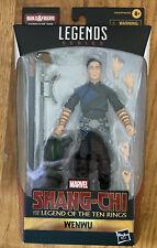 Shang-Chi & The Leggenda Of Ten Rings Wenwu Marvel Legends Action Figure