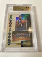 ZION WILLIAMSON 2019-20 HOOPS CLASS OF 2019 HOLO RC BGS 9.5 GEM MINT