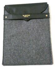 VALENTINO Parfums iPad Mini Felt Pouch - Charcoal Coloured