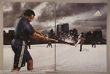 Vladimir Guerrero 2-Page PRINT AD - 2005 ~Adidas Climacool Sportswear & Sneakers