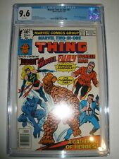 Marvel Two In One # 51 CGC 9.6 Thing