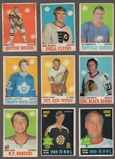 1970-71 O-Pee-Chee Hockey Cards Near Set of 259/264