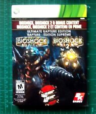 BRAND NEW FACTORY SEALED Bio Shock 1+2 Ultimate Rapture Edition Xbox 360