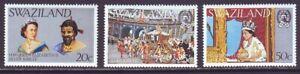 Swaziland 1977 SC 278-280 MNH Set QEII Silver Jubilee