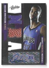 2010-11 Absolute Memorabilia Rookie Premier Autograph Hassan Whiteside #250/499