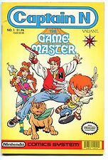 1990 Captain N #1 ~The Game Master~ (Grade 9.0) WH