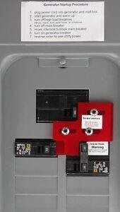 SD-3 Generator Interlock Kit for Square D panel