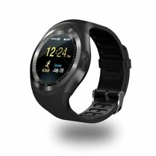 2018 Smart Watch Round with SIM Card Slot Camera MP4 Player for Men Ladies Gift