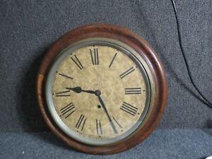 Antique Ansonia Oak case Gallery  clock