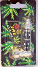 Shisha Abu Hookah Mini Herbal Molasses Pipe Hookah Herb Leaf + 5 SCREENS