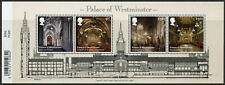 GB Architecture Stamps 2020 MNH Palace of Westminster Norman Porch 4v M/S