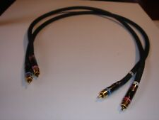 MONSTER CABLE SIGMA M2000 3 Foot Pair Interconnects  EX