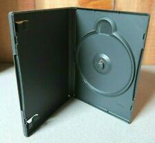 Lot of 100 DVD CD Blu-Ray Single Cases ALPHAPAK Clear-Vu APD3 Dark Gray