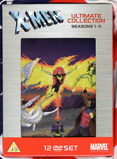 XMEN The Animated Series ULTIMATE COLL Complete Season 1-5 Art Card DVD Box Set