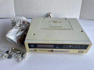 GE Spacemaker AM FM Radio Cassette Player Under Cabinet Works Includes Hardware