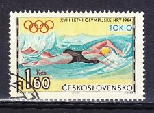 Czechoslovakia 1964 used Tokyo'64 Olympic Games Swimming
