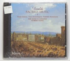 Vivaldi: Sacred Music, Vol. 8 / Robert King ~ NEW CD (Jul-2002, Hyperion (UK))