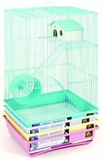 "Prevue Hendryx 3 Story Gerbil & Hamster Cage 14"" X 11X22"""