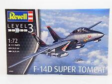 REVELL 1:72 KIT AEREO GRUMMAN F-14D SUPER TOMCAT LUNGHEZZA 26 CM  ART 03960