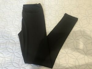 LULAROE WOMENS SOLID BLACK LEGGINGS ONE SIZE  OS 2-10 NWOT!