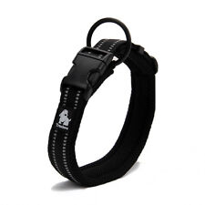 Truelove Multi-colored Dog Collar Relective Adjustable Padded