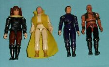 vintage BUCK ROGERS LOT x4 figures Draco DRACONIAN GUARD Killer Kane TIGER MAN