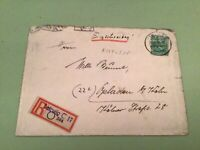 Germany Leipzig registered 1948 Opladen stamps cover  ref 50544