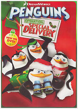 PENGUINS OF MADAGASCAR OPERATION SPECIAL DELIVERY (DVD, 2014) NEW WITH SLEEVE