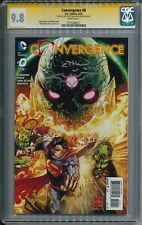 Convergence #0 CGC SS 9.8 Signed and Remark by Ethan Van Sciver (EVS)