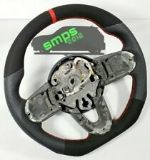 Gen 3 F56 Perforated Leather & Suede Custom made Steering wheel MANUAL
