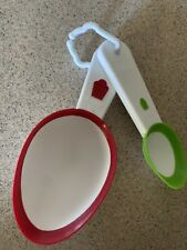 Wilton Scoop-It Batter Spoons Scoop-It Batter Spoons Set of 2 (Mini & Jumbo) NEW