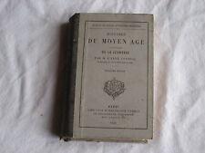 Livre ancien 1890 Histoire du Moyen Age par l'Abbé Courval