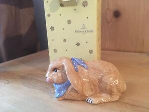 Villeroy&Boch, Easter Decoration, Kaninchen mit Halstuch, neu OVP 1.Wahl