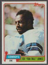 1981 TOPPS FOOTBALL #185 ED TOO TALL JONES NMMT