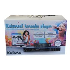 KARMA UMP 700 lettore registratore karaoke riproduce da cd dvd usb sd mp3 mp4