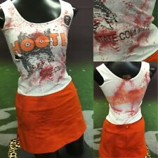 Real Hooters Cheerleading Zombie Outfit Adult S