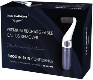 Electric Hard Skin Remover Sturdy Smooth Own Harmony USA Best Rated Callus NEW V