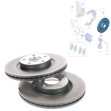 GENUINE A PAIR OF FRONT VENTED BRAKE DISC FOR FORD FOCUS Mk3 C-MAX, 1520297