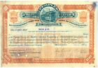 Peoples Traction Company of Philadelphia Stock Certificate Railroad Pennsylvania