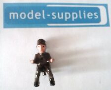 Dinky 100 Fab 1 reproduction painted plastic Parker figure